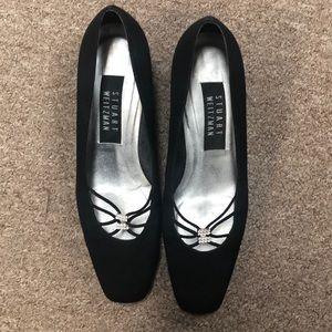 Stuart Weitzman Vintage Black Heels